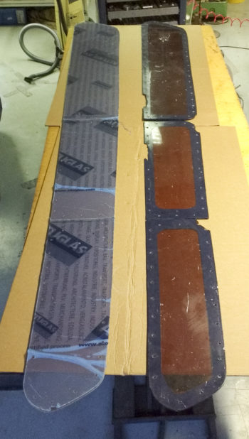 CNC Polycarbonaat ramen