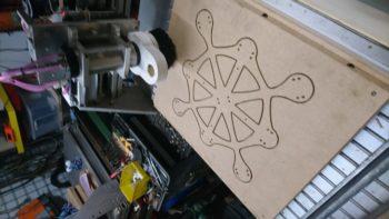 CNC 3d printerbed